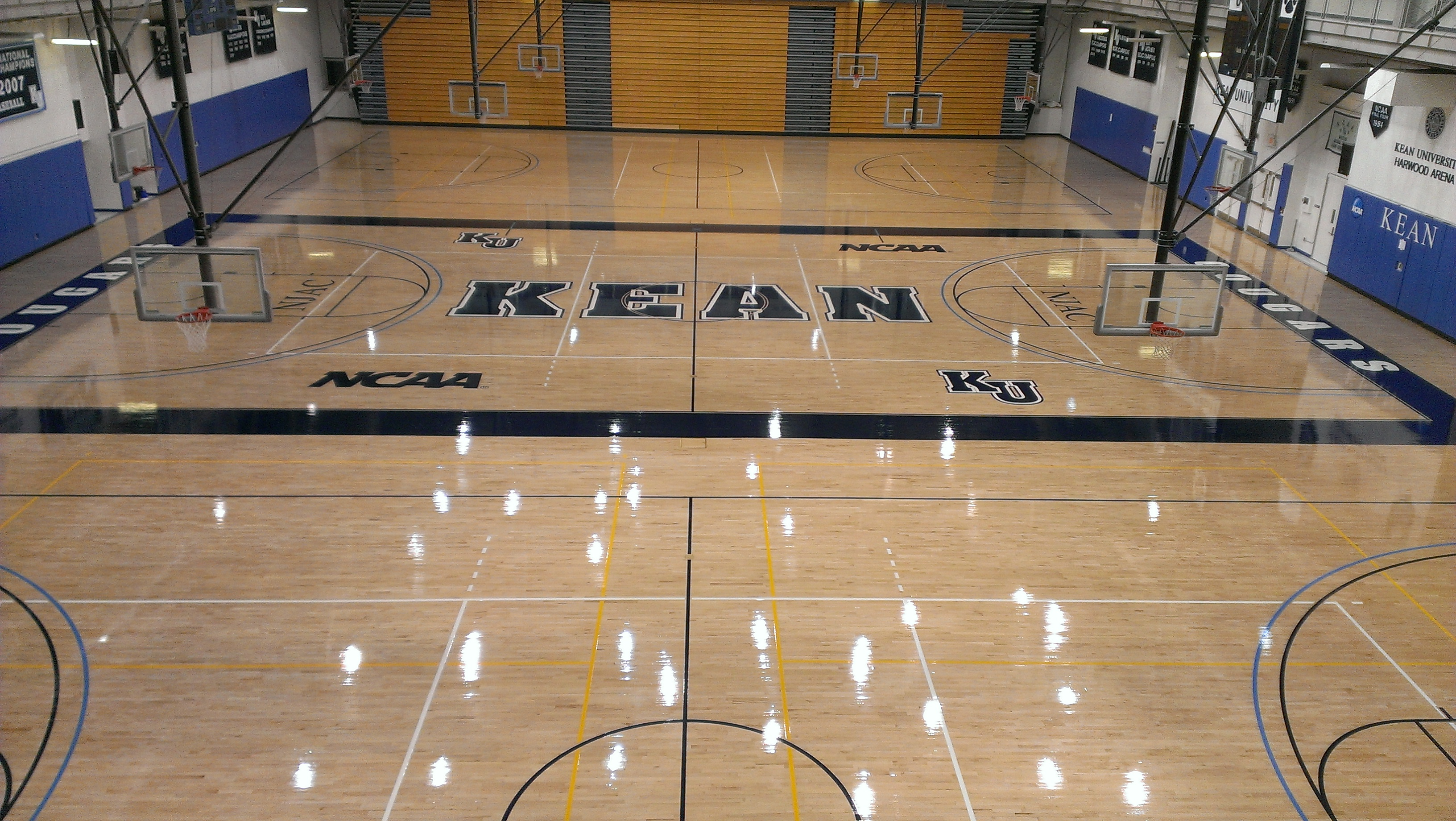 Triple Basketball Court Flooring