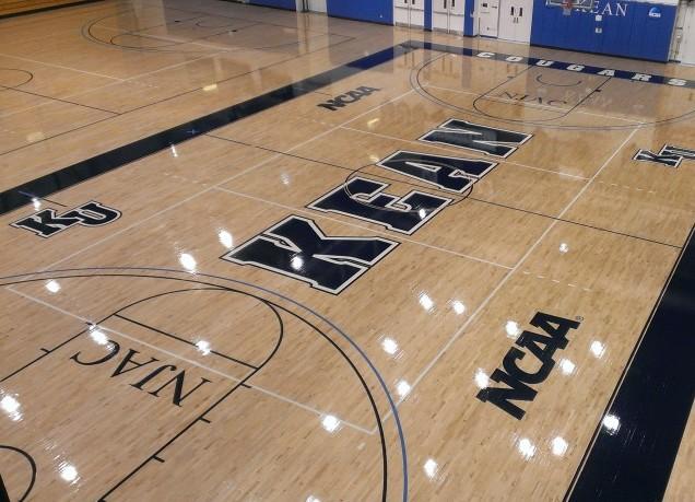Multi Branded Basketball Court Flooring