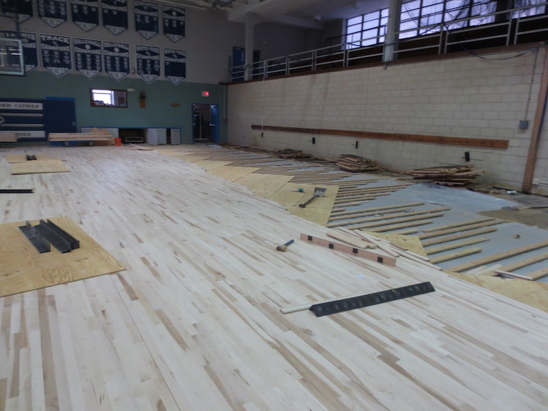 Flooring in Progress