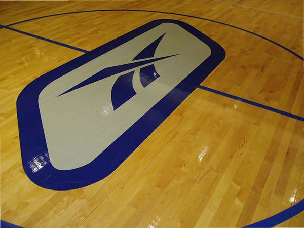 Logo on The Floor