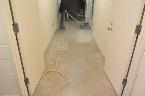 Step 1 - Prep - Herculan IG institutional flooring installers