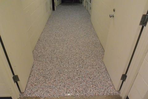 Step 4 - Complete day one - Herculan IG flooring installers