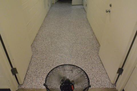 Step 7 - Finished Floor - Herculan IG institutional flooring install