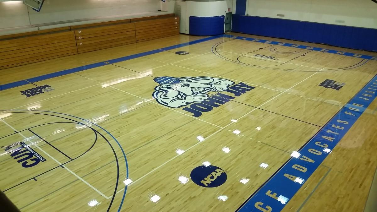 Gym floor refinishing cost meze blog for Gym flooring
