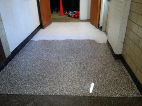Asbestos encapsulation at Roy Brown School in Bergenfield, NJ