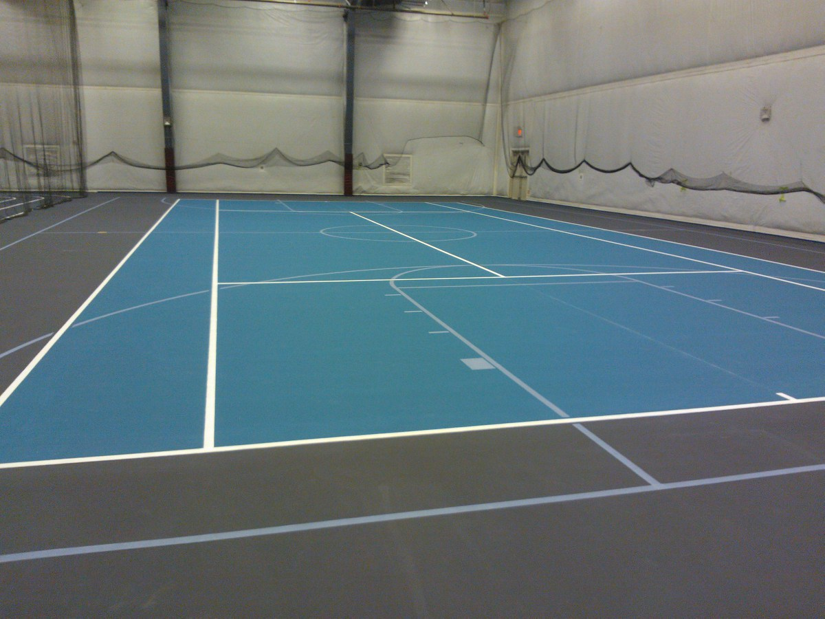 Herculan tennis court surfaces feel the love for Flooring surfaces