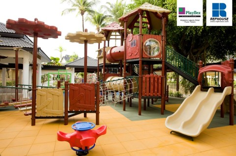 Safety First: Playflex™ Rubber Safety Tiles from Rephouse for Playground Flooring