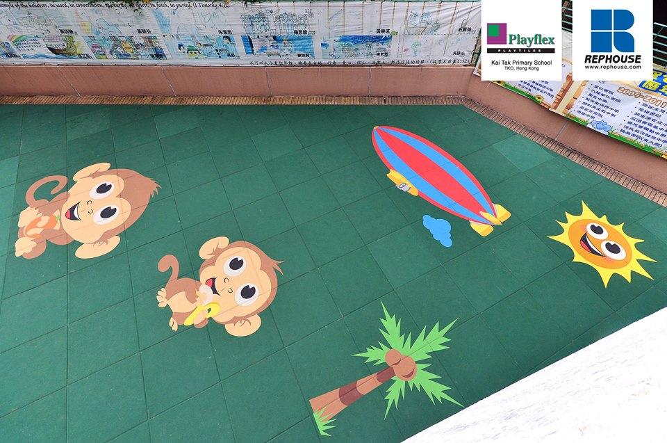 Rephouse Playflex Playground Flooring