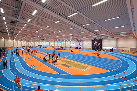Get on the Right Track with Mondo Super X Field House Flooring
