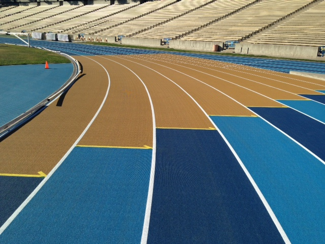 University of California - Los Angeles - Mondo Super X sport flooring