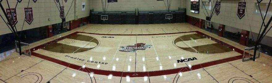 Basketball Floor Installation